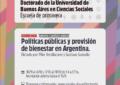 """Seminario """"Políticas Públicas y provisión de bienestar en Argentina"""""""