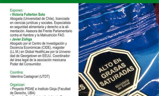 Ciclo de Debates sobre el derecho a la alimentación: «Desafíos legales en la implementación de etiquetado frontal de alimentos en Latinoamérica»