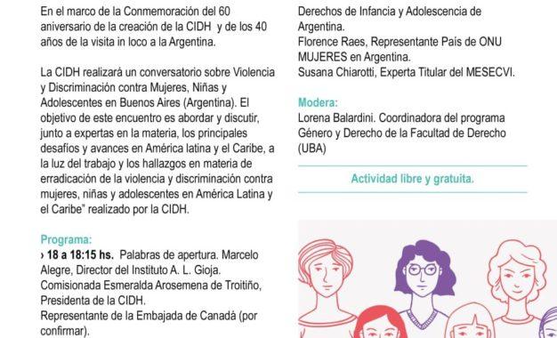 «Violencia y discriminación contra mujeres, niñas y adolescentes: desafíos y avances en América Latina y el Caribe».