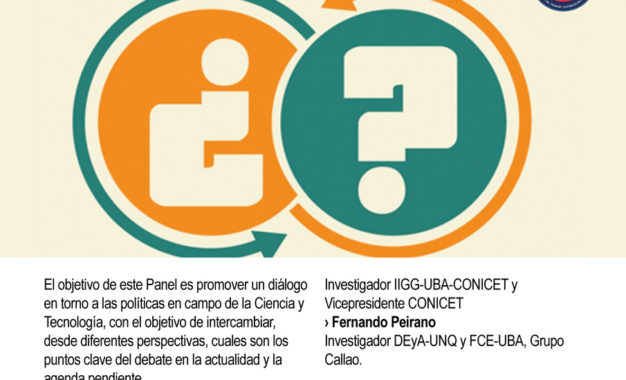 Próximo Seminario DSPP: «Las políticas científicas en agenda. Un diálogo abierto».