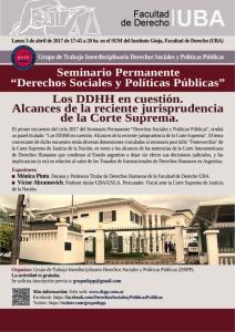 seminario marzo